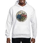 Rocky Alpine Bouquet Hooded Grey Sweatshirt