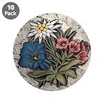 "Rocky Alpine Bouquet 3.5"" Button (10 pack)"