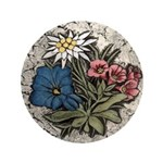 "Rocky Alpine Bouquet 3.5"" Button"