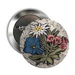 "Rocky Alpine Bouquet 2.25"" Button (10 pack)"