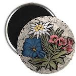 Rocky Alpine Bouquet Magnet