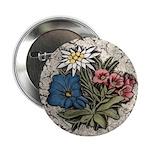 "Rocky Alpine Bouquet 2.25"" Button"