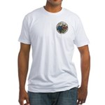 Rocky Alpine Bouquet Fitted T-Shirt