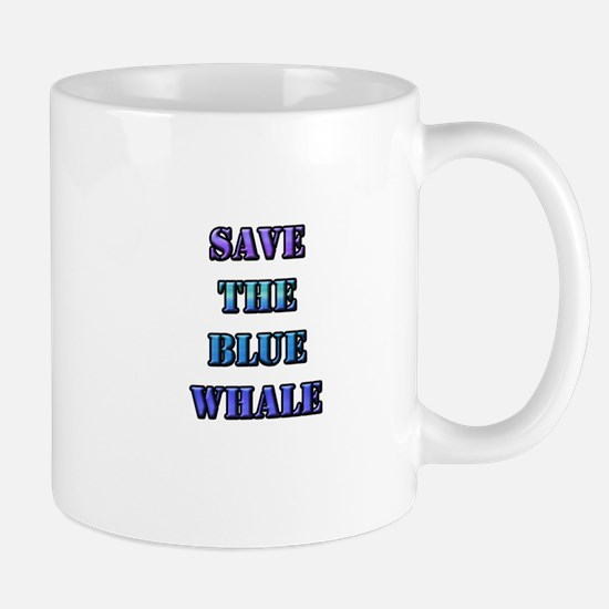 Save the Blue Whale Mug