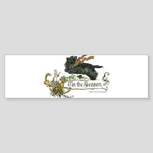 Scottish Terrier Season Sticker (Bumper)