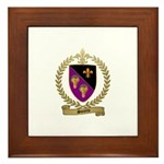 SURETTE Family Crest Framed Tile