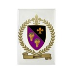 SURETTE Family Crest Rectangle Magnet