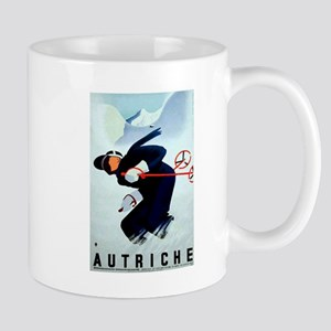 Austria Skiing Skier Mug