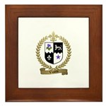 VIOLETTE Family Crest Framed Tile