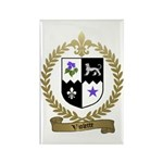 VIOLETTE Family Crest Rectangle Magnet