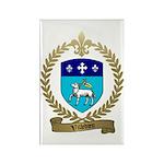 VILLEDIEU Family Crest Rectangle Magnet (10 pack)