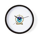 VILLEDIEU Family Crest Wall Clock