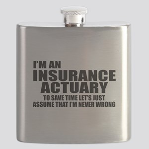 I'm an insurance actuary - to save time Flask