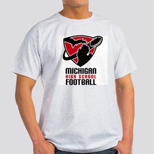 Michigan HS Football Ash Grey T-Shirt