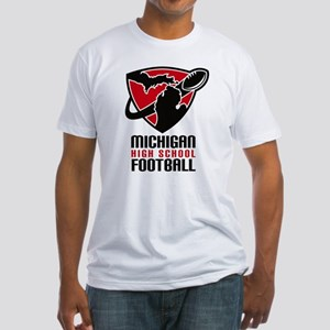 Michigan HS Football Fitted T-Shirt
