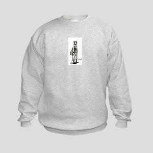 Combat boot fairy Kids Sweatshirt