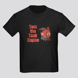 Tom the Tank Engine Kids Dark T-Shirt