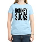 Romney Sucks Women's Light T-Shirt