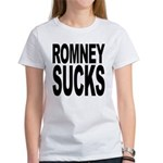 Romney Sucks Women's T-Shirt