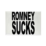 Romney Sucks Rectangle Magnet (100 pack)