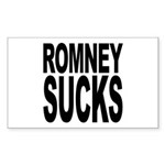 Romney Sucks Rectangle Sticker 50 pk)