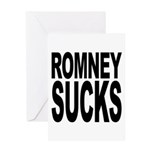 Romney Sucks Greeting Card