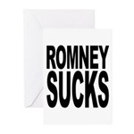 Romney Sucks Greeting Cards (Pk of 20)