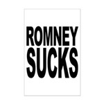 Romney Sucks Mini Poster Print