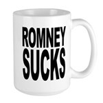 Romney Sucks Large Mug