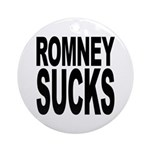 Romney Sucks Ornament (Round)