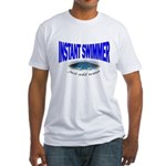 Instant Swimmer Fitted T-Shirt