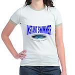 Instant Swimmer Jr. Ringer T-Shirt