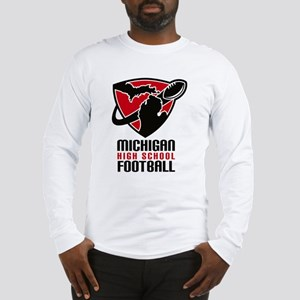 Michigan HS Football Long Sleeve T-Shirt