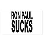 Ron Paul Sucks Rectangle Sticker 10 pk)