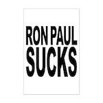 Ron Paul Sucks Mini Poster Print