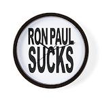 Ron Paul Sucks Wall Clock
