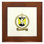 VIGER Family Crest Framed Tile