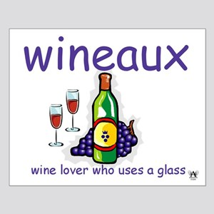 Wineaux Small Poster