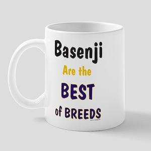 Basenji Dog Best of Breeds Mug