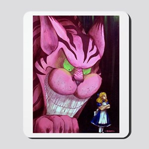 Stubburn Little Alice Mousepad