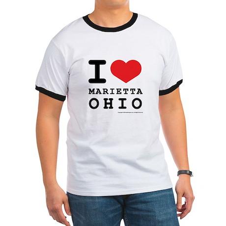 I Love Marietta, Ohio Ringer T