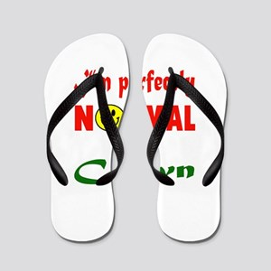 I'm perfectly normal for a Clown Flip Flops