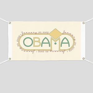 Obama Inauguration Banner