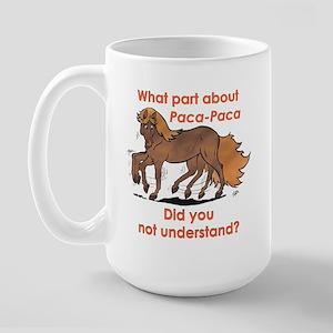 Paca-Paca ? Large Mug