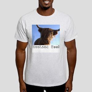 """heeland coo"" Ash Grey T-Shirt"