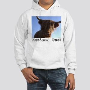 """heeland coo"" Hooded Sweatshirt"