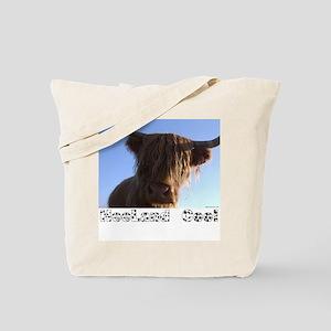 """""""heeland coo"""" Tote Bag"""