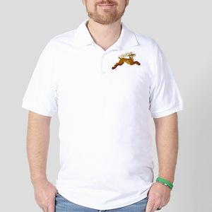 Celtic Stag Golf Shirt