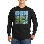 Frog Long Sleeve Dark T-Shirt