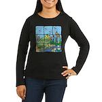 Frog Women's Long Sleeve Dark T-Shirt